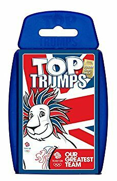 Top Trumps Team GB Card Game Brand New Sealed - Olympics