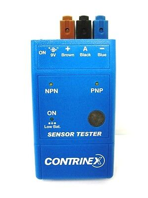 Contrinex sensor tester ATE-0000-010 600000033 w/ rechargeable battery