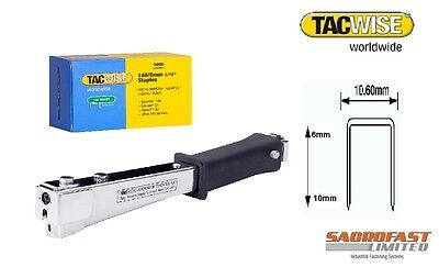 Tacwise A11 Hammer Tacker With Staples