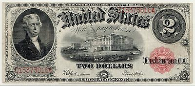 Fr.60 1917 $2 LTN PCGS Currency VF-20, Red Seal Large Legal Tender Note [3084.11