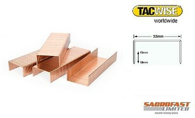 Tacwise 32 Type Carton Closing Staples 15-18Mm