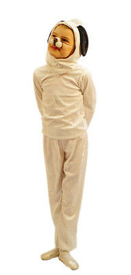 World Book Day/Animal SNOOPS WHITE DOG Child's Fancy Dress Costume - All Ages