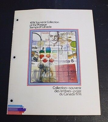 1974 Album Souvenir Collection of The Postage Stamps of Canada