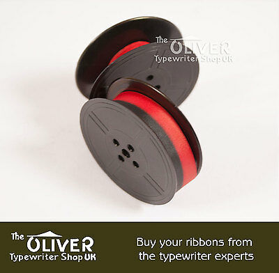 SILVER REED 500 TYPEWRITER RIBBON (BLACK or BLACK and RED)  **High Quality**