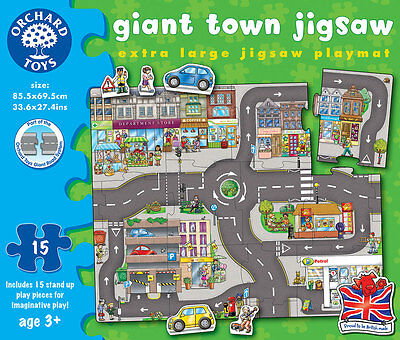 Orchard Toys Giant Town Jigsaw for Children – NEW