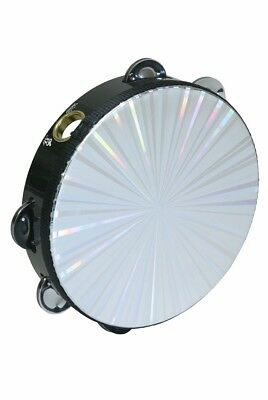 Remo Radiant Tambourine With 8-Pair Jingles 2-Row 8-Inch