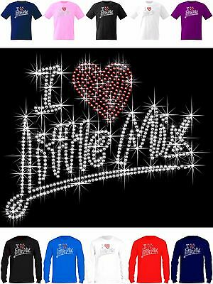 T Shirt with 676 Sparkling Little Mix Rhinestones Glory days 2017