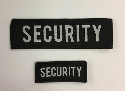 Security Guard Woven Patches / Variations /  Uniform Badges