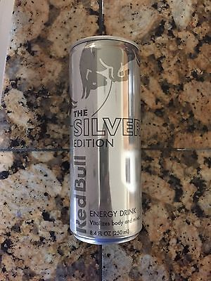 Red Bull Energy Drink Silver Edition 8 Oz