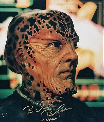 OFFICIAL WEBSITE Bill Blair in BABYLON 5 TV Series 8x10 AUTOGRAPHED