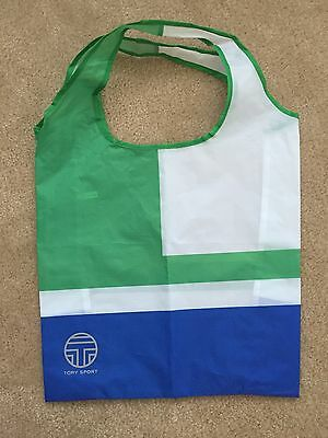 Tory Burch Sport Nylon Grocery Shopping Bag Tote New Limited Edition
