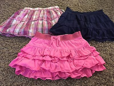 Youth Girl Justice Children's Place Skirt Skort Lot Size 12