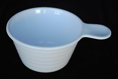 "3 Dozen 12 OZ MELAMINE 4-1/2"" Soup BOWL with Handle for BUFFET   White"