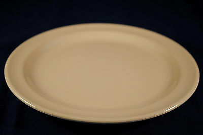 "4 Dozen  NEW US110  10-1/4"" Melamine Round Dinner Plate  DP-510  (Tan)"