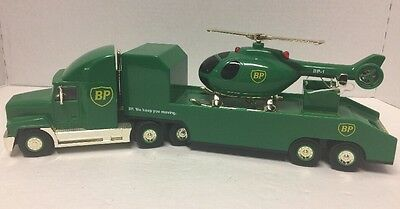 """Vintage 1999 BP """"Lighted"""" Collectible Gold Chopper Truck  16""""  """"NIB""""  #02560"""