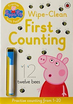 Peppa Pig: Practise with Peppa: Wipe-Clean Counting by 0 New Paperback Book