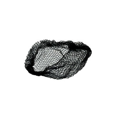 """Royal 20"""" Black Heavy Weight Latex Free Hairnets, Pack of 1,440, RPH144HDBK"""