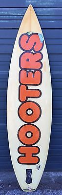 Vintage Hooters Surf Board From District Court Case-Memorabilia-Great Find!!!