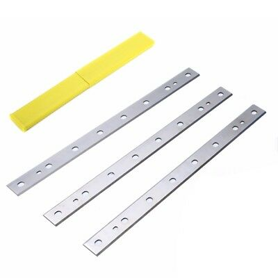 "Dewalt 12-1/2"" Replaces Planer Blades Knives for Dewalt DW734, DW7342 - Set of 3"