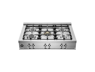 Bertazzoni Professional Series CB36500X 36in Pro-Style Slide-In Gas Rangetop