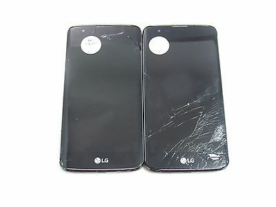 Lot of 2 Cracked LG L51AG (TracFone) (Check ESN)_CR12