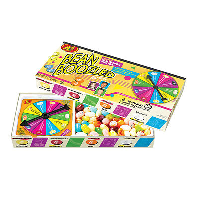 Brand New 3.5 oz Bean Boozled Jelly Belly LIMITED EDITION THROWBACK Spinner Game