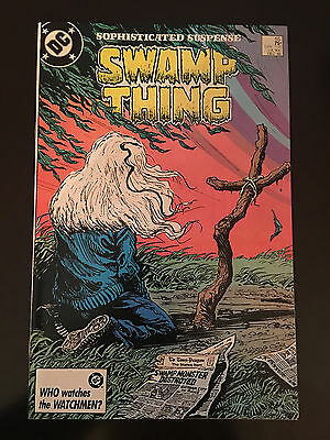 Swamp Thing (1982 2nd Series) #55 VF Very Fine DC Comics