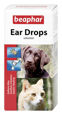 Beaphar Ear Drops For Cats & Dogs Ear Care