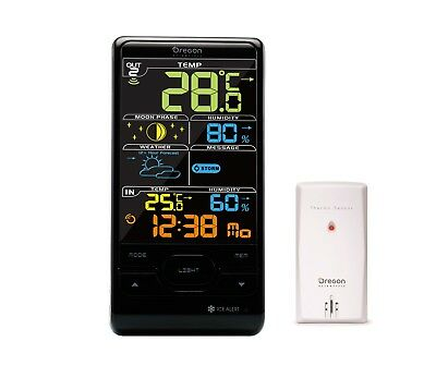 Oregon Scientific Advanced Weather Station - Humidity, Weather, Time BAR208
