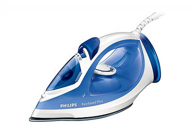Philips GC2046/20 EasySpeed Steam Iron with 110 g Steam Boost/ Ceramic Soleplate