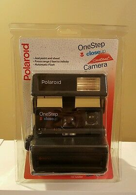 Vintage Polaroid One Step Close Up 600 Instant Film Camera - New in Package