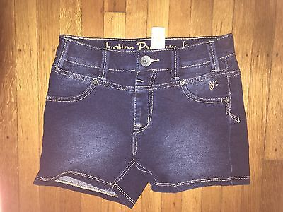 Girls Justice stretched Jean shorts Size:12