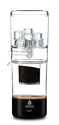 DRIPSTER Cold Drip Coffee Maker (4 cups / 500ml), Dripper for Cold Brew Coffee