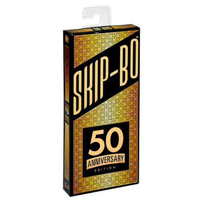 Skip-Bo 50th Anniversary Edition Card Game NEW