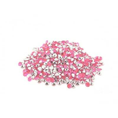 520 Strass Acryliques Rose 4mm - Neuf