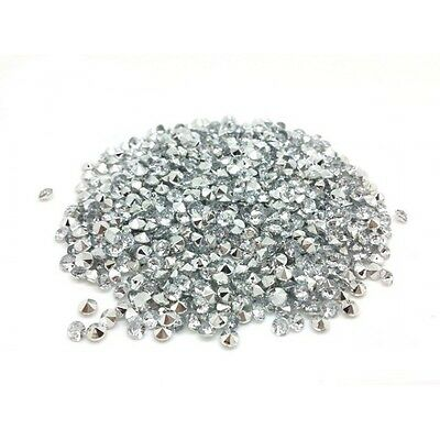 520 Strass Acryliques Transparent 4mm - Neuf