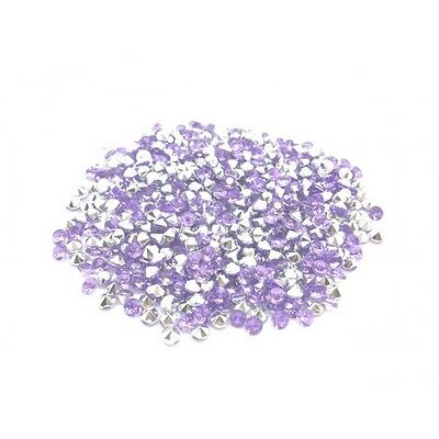 520 Strass Acryliques Violet Clair 4mm - Neuf
