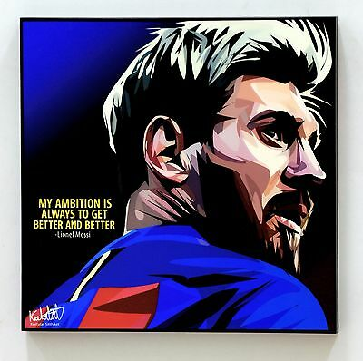 ❤️ Lionel Messi canvas quotes wall decals photo painting framed POP ART poster