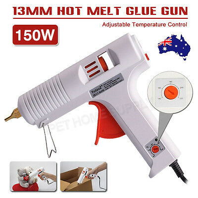 Hot Glue Gun Adjustable Temperature 150W Melting Glue Glue Gun Non-drip Nozzle