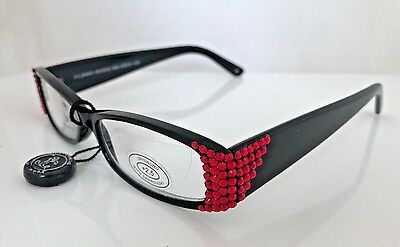 15e3dfea4d7 JIMMY CRYSTAL LIGHT Siam Swarovski Crystal Reading Glasses