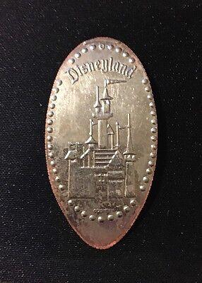 Disneyland Elongated/Pressed Quarter: Disneyland Castle (Retired)