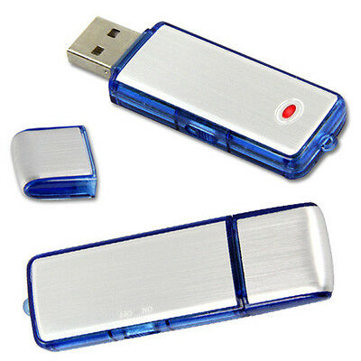 Nueva 8GB USB Mini oculta audio digital grabadora de voz Flash Drive