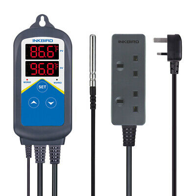 Inkbird ITC306T Digital Temperature Controller Heating Time heater 220V timer