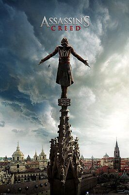 Assassin's Creed Spire Assassins Video Game Poster Print Wall Art Large Maxi