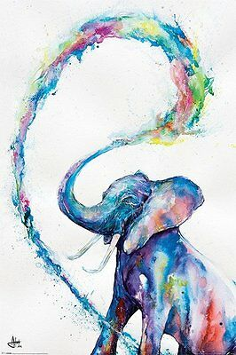 Elephant Poster Abstract MARC ALLANTE Print Wall Art Large Maxi
