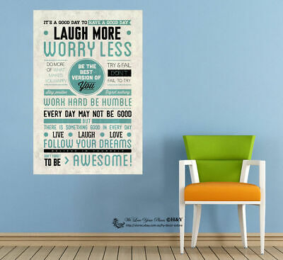 """""""Be The Best"""" Wall Art Quote Stickers Removable Vinyl Decal Home Office Decor"""
