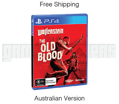 Wolfenstein: The Old Blood - Sony Playstation 4 PS4 game - NEW & SEALED