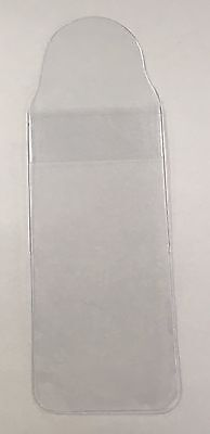 Clear plastic Medal Wallet Holders 55 x 120 mm Storage WW1 WW2 Medals