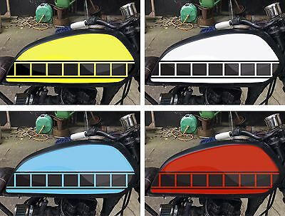 3 X 580mm YAMAHA SPEED BLOCK STRIPE KITS DECALS STICKERS GRAPHICS