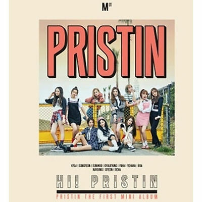 PRISTIN - HI! PRISTIN (1st Mini Album) PRISMATIC VER. CD+Book+PhotoCard+Poster